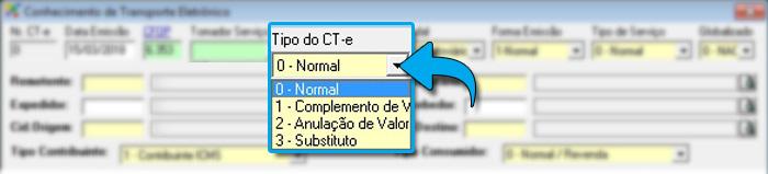 Emitir CT-e