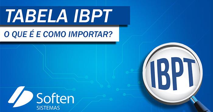Tabela IBPT