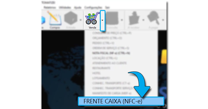 Emitir NFC-e no SIEM